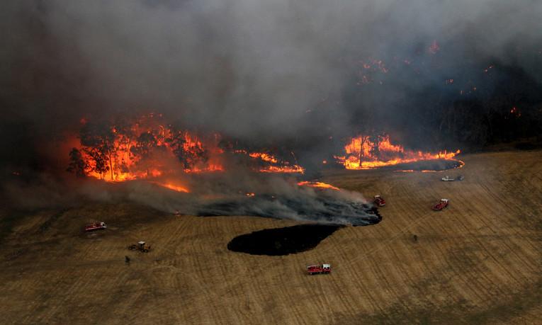 Пожары в новогодние праздники в Миллерово и районе