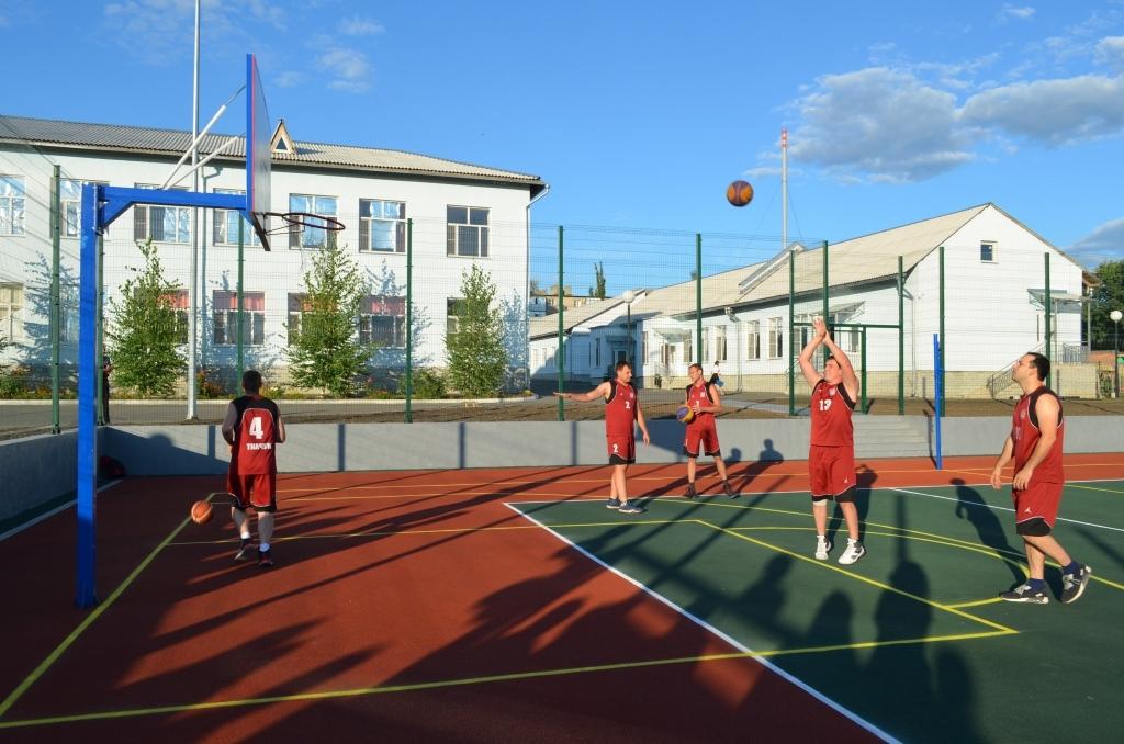 Новая спортивная площадка в школе №5