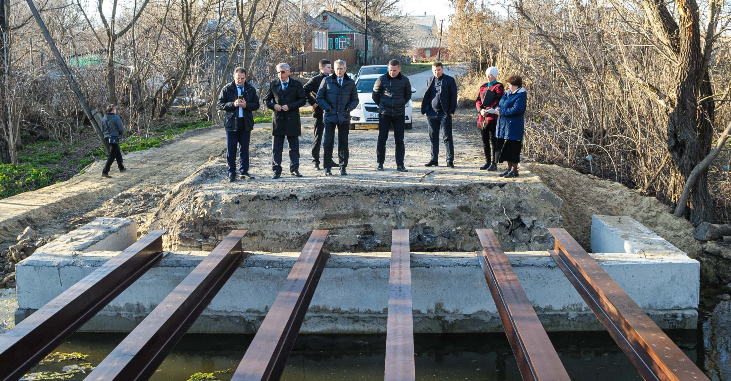 Мост в с.Греково скоро отремонтируют