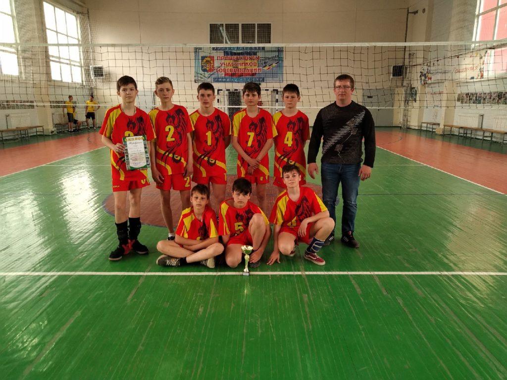 Соревновани по волейболу среди юношей в рамках муниципального этапа Спартакиады школьников Ростовской области