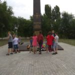 """В городе Миллерово продолжаются """"Исторические квесты""""."""