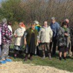открытие детской площадки в х.Краснянка