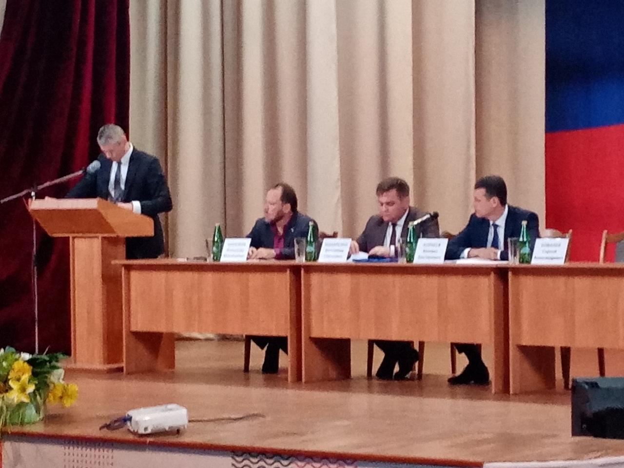 встреча с заместителем Губернатора РО М. Корнеевым